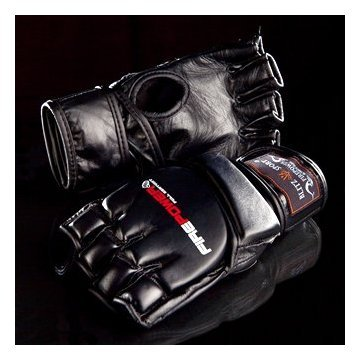 Firepower MMA Gloves Medium Black