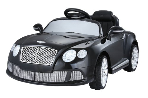 New New Limited Edition Ride On Toy Car 6V Licensed Kids Black Bentley Gt Ride On Car With Remote Control