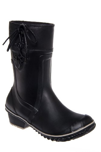 Sorel Conquest Carly Glow Low Heel Rain Boot