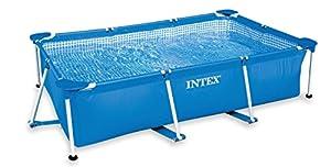 Intex - 58981Fr - Piscine - Piscinette Metal Frame 3 X 2 X 0,75 M - Tubulaire Métal Rectangulaire