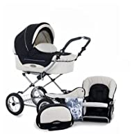 Roan Kortina Classic Pram Stroller 2-in-1 with Bassinet and Seat - Multiple Colors from Roan