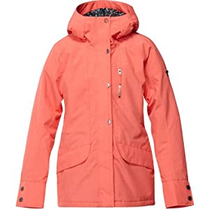Roxy Andie Jacket - Women's Hot Coral, XL
