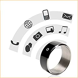 Epresent NFC Smart Ring Multifunctional Ring NFC Enabled Android Windows Phones RING SIZE 9