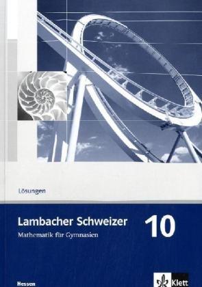 Lambacher schweizer 10 losungen pdf