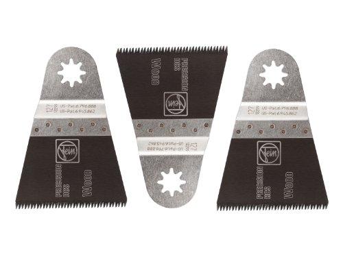 Fein 63502127020 2-1/2-Inch Precision E-Cut Blade, 3 Pack