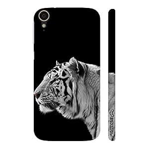 Enthopia Designer Hardshell Case White Tiger 2 Back Cover for HTC Desire 828