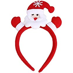 TOPUNDER Christmas Hair Accessory Decoration Home Party Head Hoop (8661)
