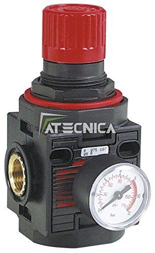 Druckregler-mit-Manometer-FIAC-94213-900-Lmin-fr-Druckluft