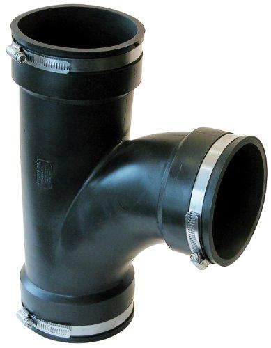 Fernco Inc. PQT-400 4-Inch 90 Degree Qwik Tee