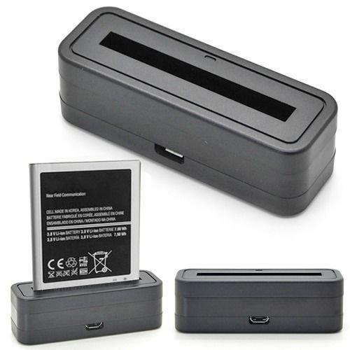 Batteria Tavolo Caricabatterie Dock Station Culla Caricabatteria Per Samsung Galaxy Note 2 ii N7100