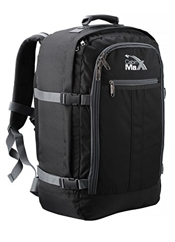 cabin-max-metz-44l-flight-approved-hand-luggage-backpack-55x40x20cm-black-grey44l