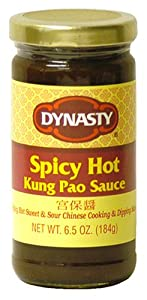 Dynasty Spicy Hot Kung Pao Sauce, 6.5-Ounce Jars (Pack of 4) from Dynasty