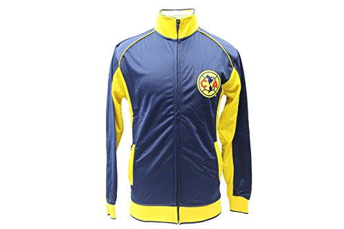 Club America Jacket Track Soccer Adult Sizes Soccer Football Official Merchandise Large Blue (America Soccer Jacket compare prices)