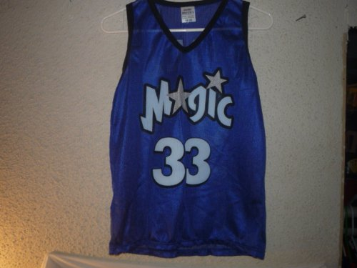 VINTAGE Kids Size 18-20 GRANT HILL ORLANDO MAGIC PROMOTIONAL JERSEY