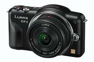 Panasonic Lumix DMC-GF3C Kit compact hybride 12,1 Mpix Noir + Objectif 14 mm