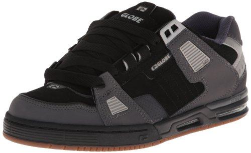 Globe Men's Sabre Skate Shoe,Black/Charcoal/Grey,9.5 M US