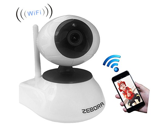 Best Buy! ZEBORA 960P Remote Wireless Surveillance Network Monitoring WiFi IP Indoor Video Security ...