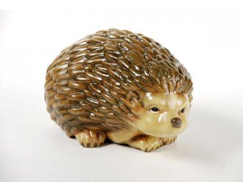 FK Automotive N25964-1 'Hedgehog' Garden Ornament Hand-Painted Ceramic