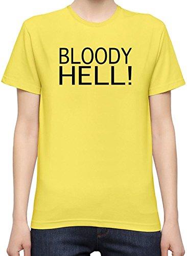Bloody Hell Slogan T-Shirt per Donne XX-Large