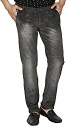 Spuro Men's Regular Fit Jeans_04_Grey_30