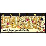 Zotter - Waldbeeren mit Vanille - 70 gr