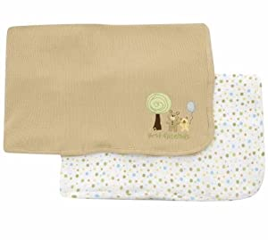 2 Pack Thermal Blankets - Bear