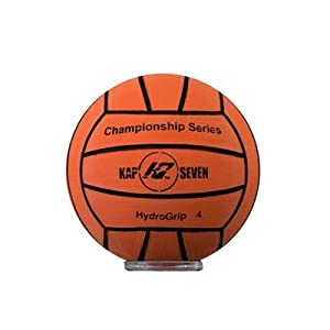 KAP7 HYDROGRIP WATER POLO BALL - SIZE 4 (Orange)