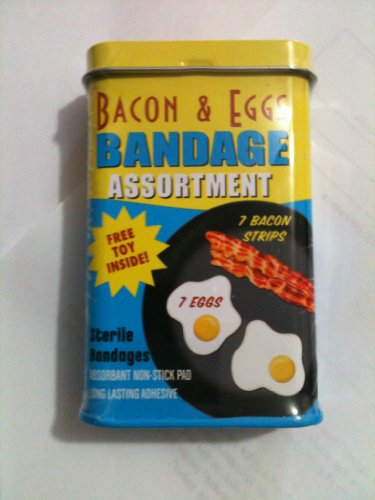 Bacon & Eggs Bandage Assortment