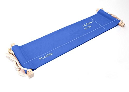 Bro-Fuablage-Schreibtisch-Hngematte-Fu-Hngematte-Verstellbar-Blau-Hngesessel