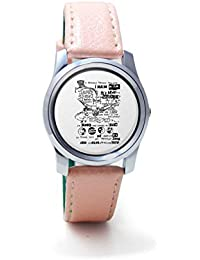 BigOwl Psychedelic Reality Painting Women's Analog Wrist Watch 2114874536-RS2-S-PK1