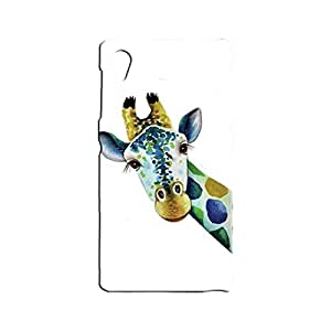 BLUEDIO Designer 3D Printed Back case cover for Sony Xperia Z1 - G5426