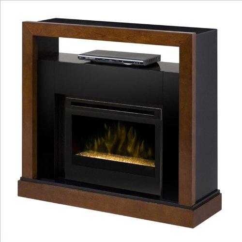 Dimplex Tanner Media Console With Glass Ember Bed