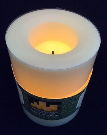 flammenlose led kerze creme champagner h he. Black Bedroom Furniture Sets. Home Design Ideas