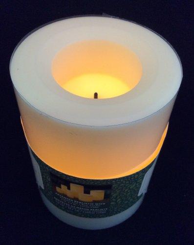 Flammenlose LED Kerzen CREME/Champagner,