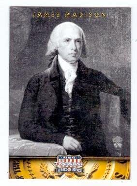 James madison trading card president of the united states for James madison pets