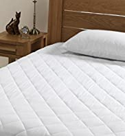 Supremely Washable Extra Deep Skirt Mattress Protector