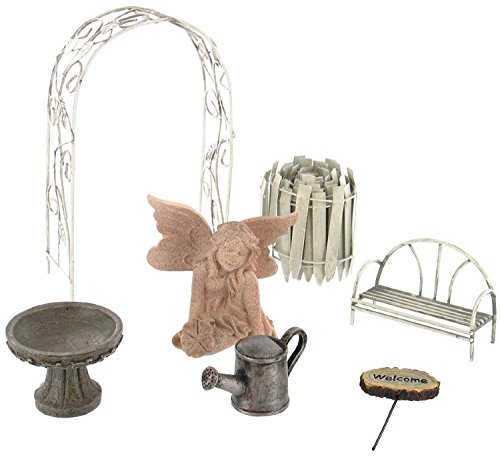 Echo Valley 6240 Fairy Garden Starter Accessory Kit