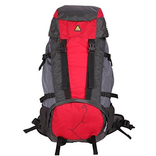 Outdoor épaule sac à dos / sac multifonction de grande capacité sac à dos / épaule alpinisme-rouge 60L