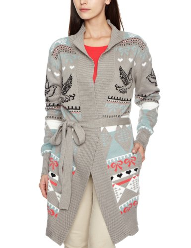 Yumi Original Bird Intarsia Y02572 Women's Cardigan