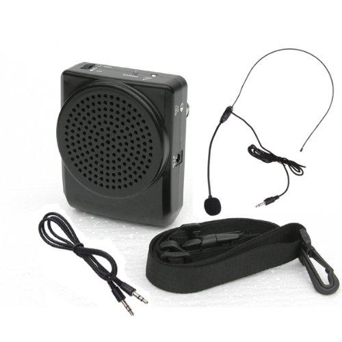 Image® Loud Portable Voice Amplifier Loudspeaker Microphone For Teachers, Coaches, Tour Guides, Presentations, Salesman, Etc.