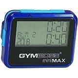 Gymboss miniMAX Minuteur d'intervalle et chronomètre - COQUE BRILLANT BLEU / BLEU