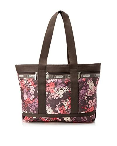 LeSportsac Women's Medium Travel Tote, Wistful Florals
