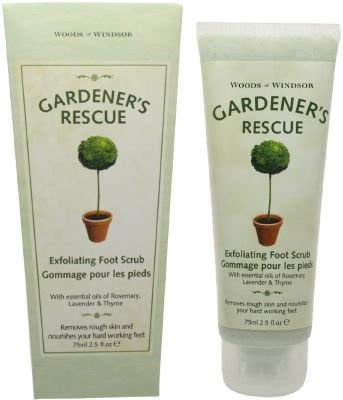 Gardener's Rescue by Woods of Windsor 2.5 oz Exfoliating Foot Scrub