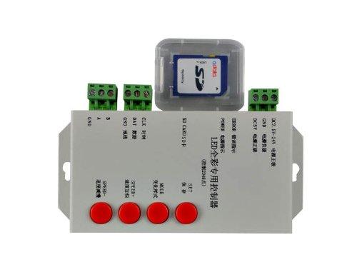 Hkbayi T-1000 256M Sd Card Rgb Led Pixels Controller Support Ws2801,Lpd6803,Ws2811,Tm1804,Tm1809,Lpd8806,Dmx 512