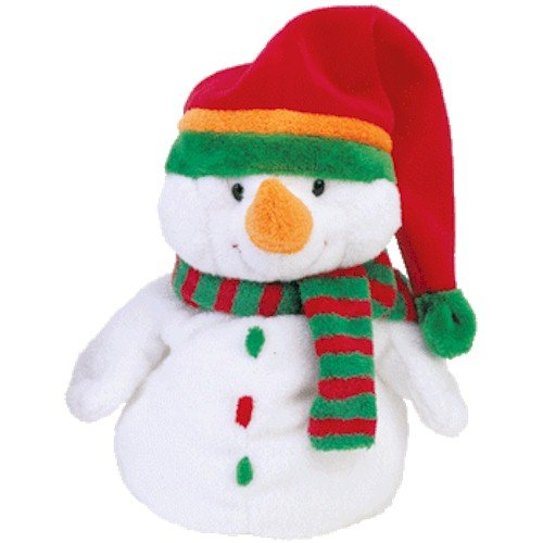 Ty Pluffies Melton - Snowman - 1