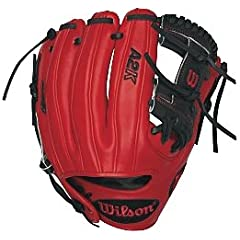 Wilson A2K DP15 Dustin Pedroia 11.5 Infield Baseball Glove by Wilson