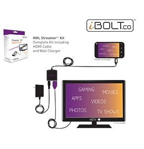 iBOLT Streamer XL Kit (MHL Smartphone to HDTV kit)