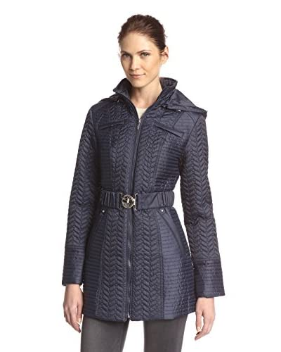 Laundry by Shelli Segal Women's Mini Quilted Stitch Jacket