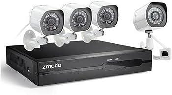 Zmodo 4-Ch. 4-Ch. 4-Cam. HD Security System