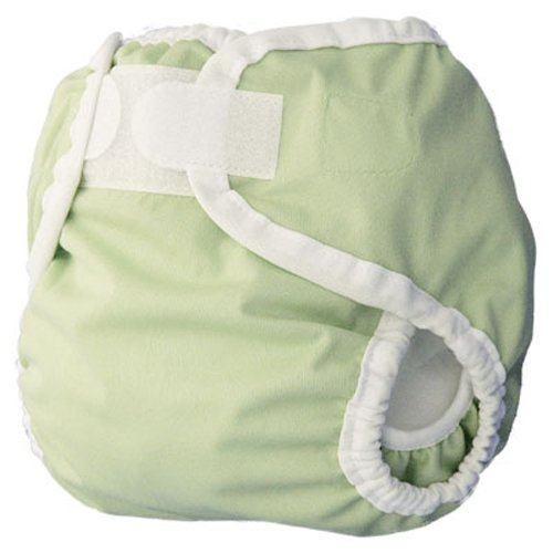 Thirsties Diaper Cover, Celery, X-Small (5-12 lbs)